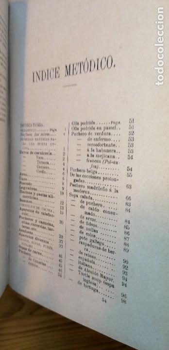 """Libros antiguos: LIBRO DE COCINA """"EL PRACTICÓN"""". ANGEL MURO. PRIMERA EDICIÓN. 1894 - Foto 26 - 266750143"""