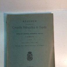 Libros antiguos: RESUMEN DE LOS TRABAJOS DE LA COMISIÓN HIDROGRÁFICA DE ESPAÑA EN LAS COSTAS DE ASTURIAS... (1929). Lote 266928139