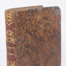 Libri antichi: DOCUMENTOS PARA TRANQUILIZAR LAS ALMAS TIMORATAS - CARLOS JOSÉ QUADRUPANI - A.PONS. CIA 1845. Lote 266939299