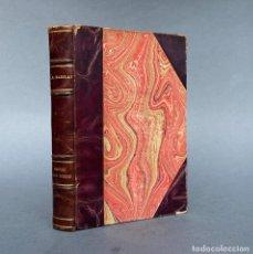 Livros antigos: 1930 - PARED POR MEDIO - NOVELA - BELLA ENCUADERNACION - FLORENCIA L. BARCLAY. Lote 267011164