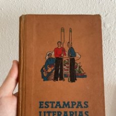 Libros antiguos: ESTAMPAS LITERARIAS - 1934 GERONA - ALEJANDRO MANZANARES - DALMAU CARLES PLA - ILUSTRADO. Lote 267258274