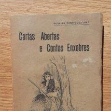 Libros antiguos: CARTAS ABERTAS E CONTOS ENXEBRES. AÑO 1.928. Lote 267276554