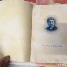 Libros antiguos: DOÑA CONCEPCIÓN LÓPEZ DE VEGA. ANDRÉS CAIMARI, CANÓNIGO. PALMA DE MALLORCA . 1ª EDICIÓN 1935. Lote 267283189