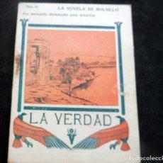 Livres anciens: LA NOVELA DE BOLSILLO - LA VERDAD - BERNARDO MORALES SAN MARTIN - ILUSTRACIONES ROCHA - Nº 54. Lote 267478134