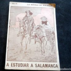 Livres anciens: LA NOVELA DE BOLSILLO - A ESTUDIAR A SALAMANCA - DIBUJOS DE AGUIRRE - Nº 93. Lote 267478929