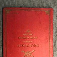 Libros antiguos: TOLEDO. LIBRO FOTOGRÁFICO MILITAR. INFANTERÍA SÉPTIMA PROMOCIÓN 1898-1900 (17 ORLAS. FOTOGRAFÍAS). Lote 267534094