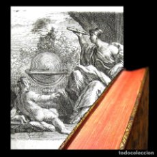 Libros antiguos: AÑO 1742 FONTENELLE SOLO 6 EN EL MUNDO ELOGIOS DE ACADÉMICOS MUERTOS GRABADO FRONTISPICIO RARO T5. Lote 267685914
