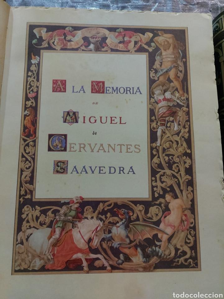Libros antiguos: Quijote - Foto 4 - 267704529