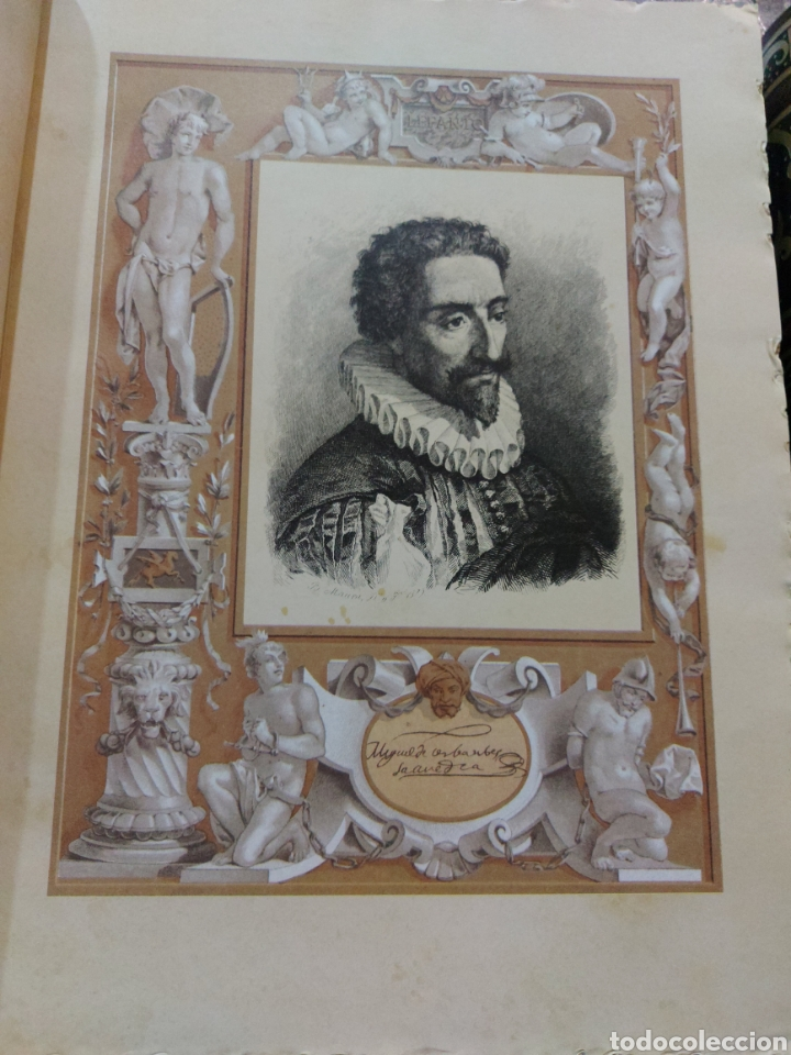 Libros antiguos: Quijote - Foto 5 - 267704529