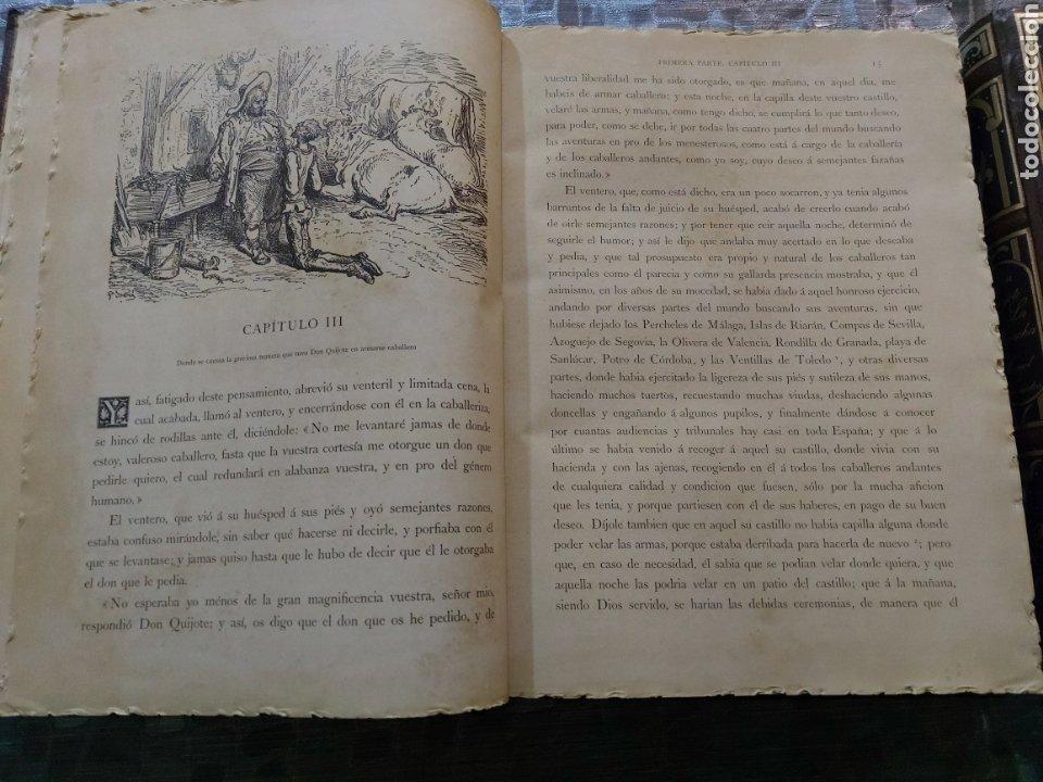 Libros antiguos: Quijote - Foto 6 - 267704529