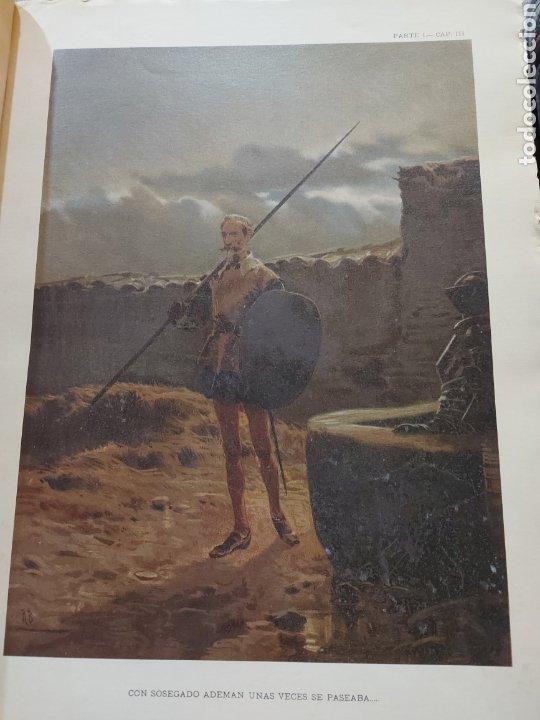 Libros antiguos: Quijote - Foto 7 - 267704529