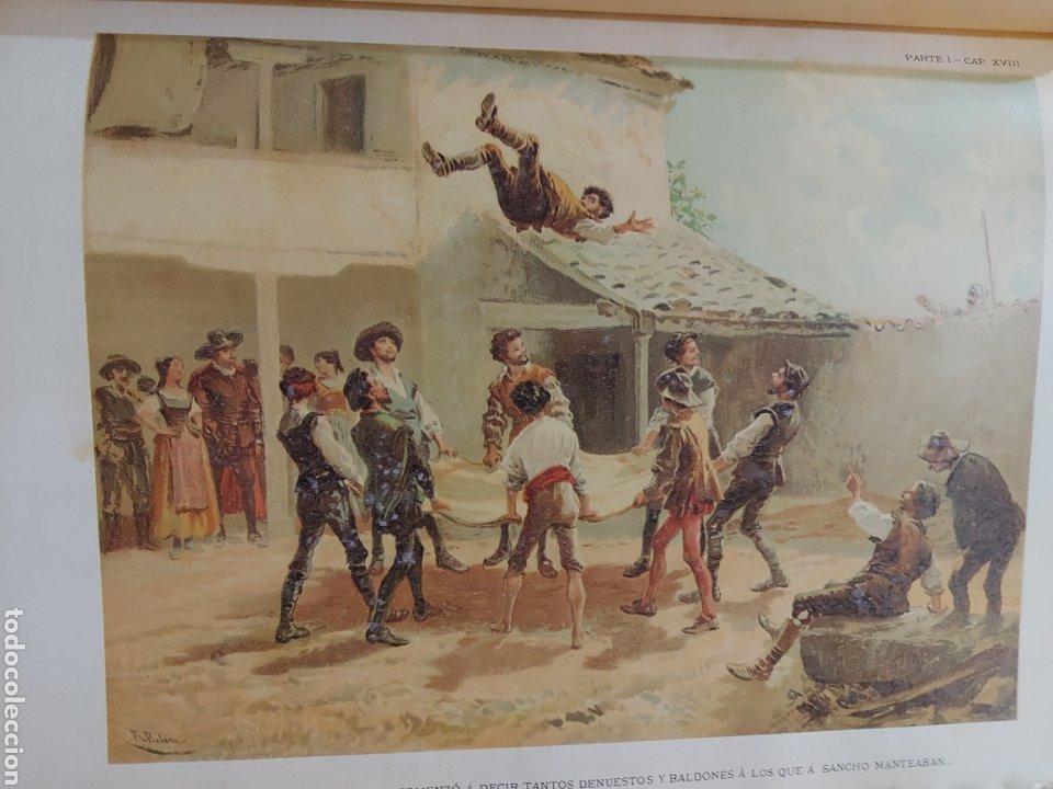 Libros antiguos: Quijote - Foto 8 - 267704529