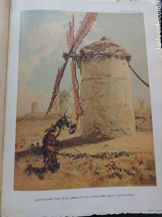 Libros antiguos: Quijote - Foto 9 - 267704529