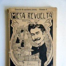 """Libros antiguos: LEÓN JIMÉNEZ, C. """"MESA REVUELTA"""".. Lote 267717754"""