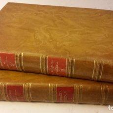 Libros antiguos: 1933 - MENÉNDEZ PELAYO - LA CIENCIA ESPAÑOLA. 2 TOMOS (OBRA COMPLETA). Lote 267823579