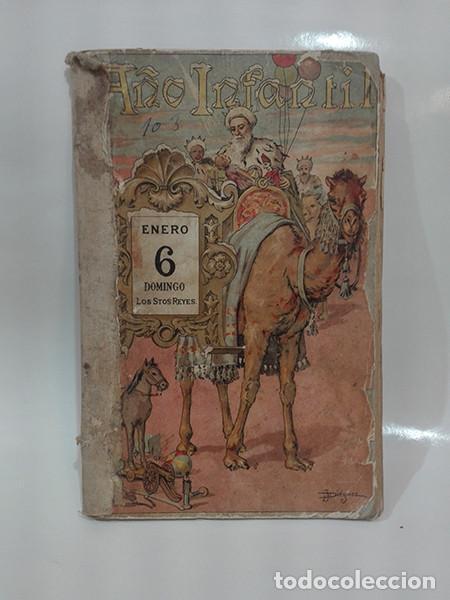 EL AÑO INFANTIL (MANUEL OSSORIO BERNARD) + LAS CUATRO ESTACIONES (CARLOS FRONTAURA). AÑO 1924. (Libros Antiguos, Raros y Curiosos - Literatura Infantil y Juvenil - Otros)