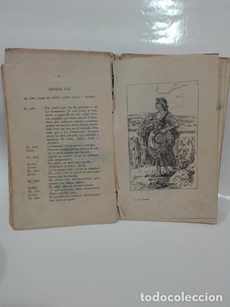Libros antiguos: EL AÑO INFANTIL (Manuel Ossorio Bernard) + LAS CUATRO ESTACIONES (Carlos Frontaura). Año 1924. - Foto 10 - 267847294