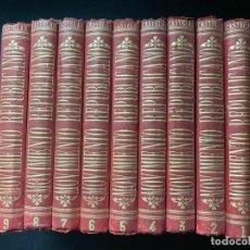 Libros antiguos: HISTORIA DEL MOVIMIENTO REPUBLICANO EN EUROPA. EMILIO CASTELAR. 9 TOMOS. COMPLETA. 2ª EDICION. 1889. Lote 268040444
