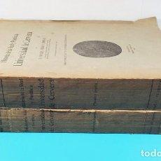 Libros antiguos: HISTORIA DE LA REAL Y PONTIFICIA UNIVERSIDAD DE CERVERA, MANUEL RUBIO Y BORRAS, 2 TOMOS 1915 Y 1916. Lote 268118224