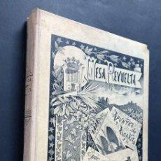 Libros antiguos: APUNTES DE ALCAÑIZ / MESA REVUELTA / E.J. TABOADA CABAÑERO / AÑO 1898 ( ORIGINAL ) / TERUEL. Lote 268187524
