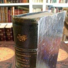 Libros antiguos: 1880 - FIDEL DE SAGARMINAGA - MEMORIAS HISTÓRICAS DE VIZCAYA. Lote 268312439