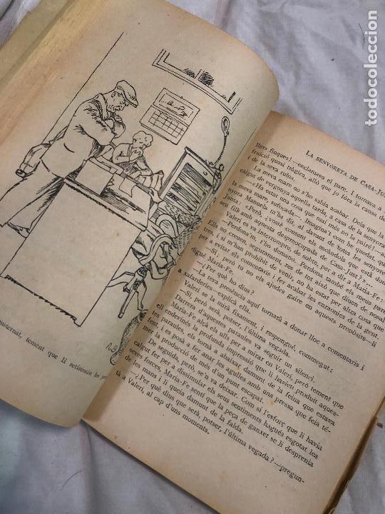 Libros antiguos: LA SENYORETA DE CASA-JUST, JOSEP Mª FOLCH I TORRES. 1935 - Foto 4 - 268401914