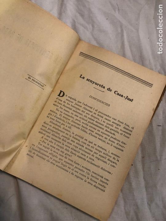 Libros antiguos: LA SENYORETA DE CASA-JUST, JOSEP Mª FOLCH I TORRES. 1935 - Foto 6 - 268401914