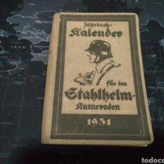 Libros antiguos: LIBRO DE PROPAGANDA NAZI ORIGINAL EN ALEMÁN. EL CALENDARIO DEL SOLDADO.. Lote 268474559