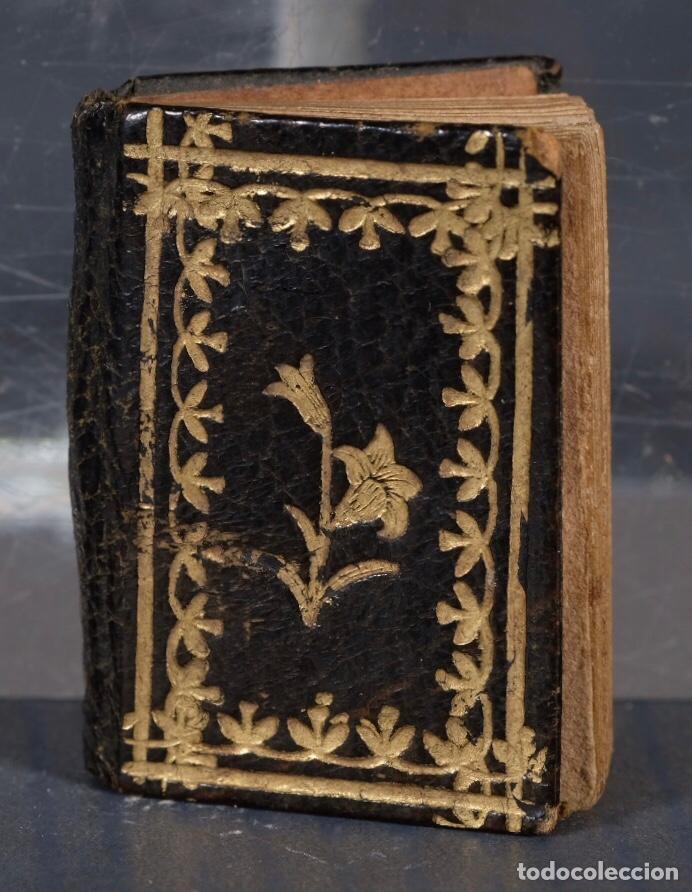 Libros antiguos: Libro en miniatura Le Petit-Poucet année 1818. Dédi à l'Enfance Paris - 27 mm x 19 mm - Foto 2 - 268593019