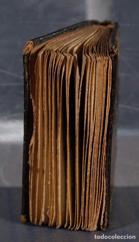 Libros antiguos: Libro en miniatura Le Petit-Poucet année 1818. Dédi à l'Enfance Paris - 27 mm x 19 mm - Foto 7 - 268593019