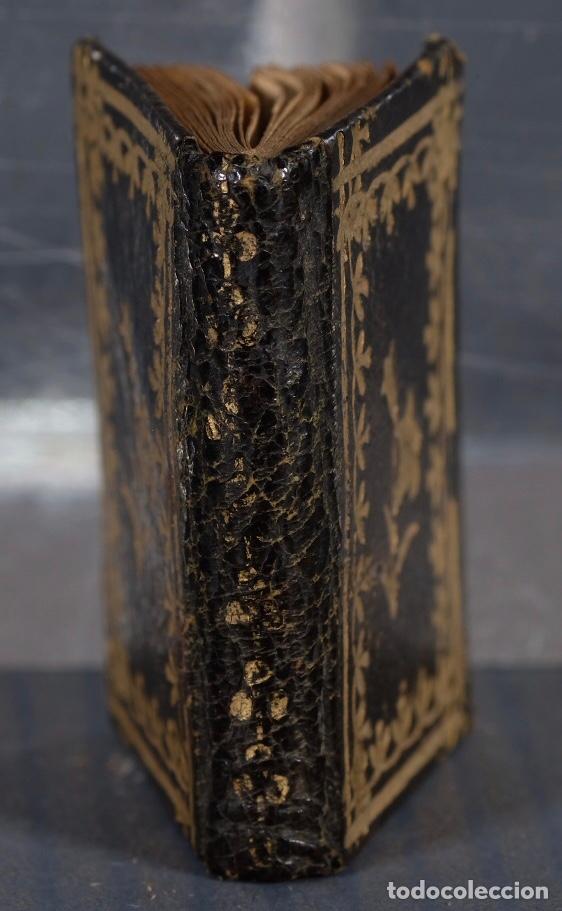 Libros antiguos: Libro en miniatura Le Petit-Poucet année 1818. Dédi à l'Enfance Paris - 27 mm x 19 mm - Foto 8 - 268593019