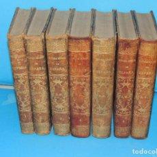 Libros antiguos: HISTORIA GENERAL DE ESPAÑA Y DE SUS INDIAS.- D. VICTOR GEBHARDT (7TOMOS OBRA COMPLETA ). Lote 268600304