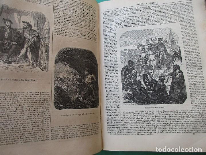 """Libros antiguos: ´HISTORIA DE FRANCIA"""". L. P. ANQUETIL Y GERMAN SARRUT.2 TOMOS EN 1.1851.ILUSTRACIONES.400 + 314 PÁGI - Foto 5 - 268691379"""