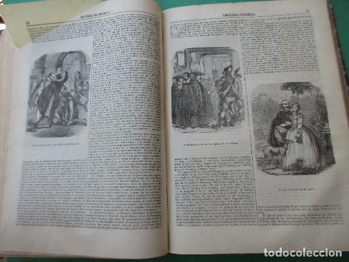 """Libros antiguos: ´HISTORIA DE FRANCIA"""". L. P. ANQUETIL Y GERMAN SARRUT.2 TOMOS EN 1.1851.ILUSTRACIONES.400 + 314 PÁGI - Foto 7 - 268691379"""
