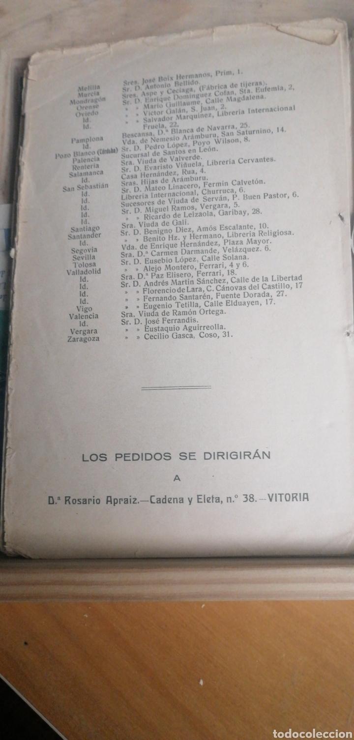 Libros antiguos: 1927 Libro de Recetas o pequeña recopilacion de recetas culinarias. Elvira Arias de Apraiz. 1927 Viu - Foto 2 - 268763814