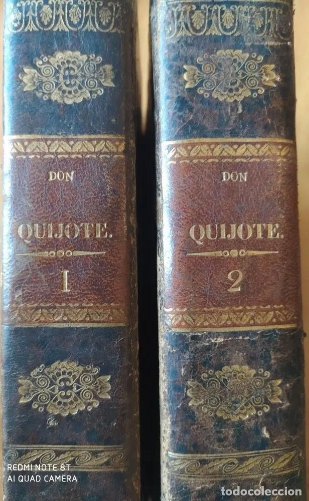 MIGUEL DE CERVANTES SAAVEDRA EL INGENIOSO HIDALGO DON QUIJOTE DE LA MANCHA 1839 (Libros antiguos (hasta 1936), raros y curiosos - Literatura - Narrativa - Otros)