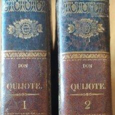 Livres anciens: MIGUEL DE CERVANTES SAAVEDRA EL INGENIOSO HIDALGO DON QUIJOTE DE LA MANCHA 1839. Lote 268780244
