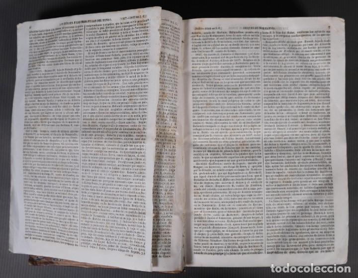 Libros antiguos: Los héroes y las maravillas del mundo - Tomo quinto 1855 - Foto 9 - 268846949
