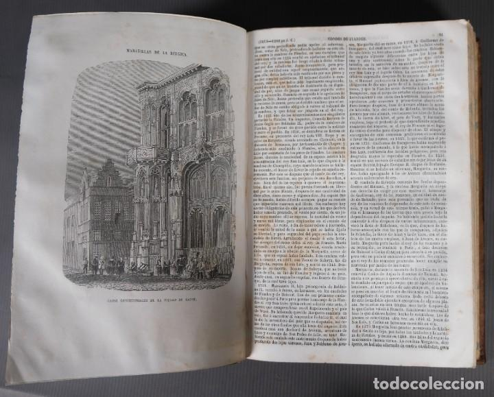 Libros antiguos: Los héroes y las maravillas del mundo - Tomo quinto 1855 - Foto 10 - 268846949