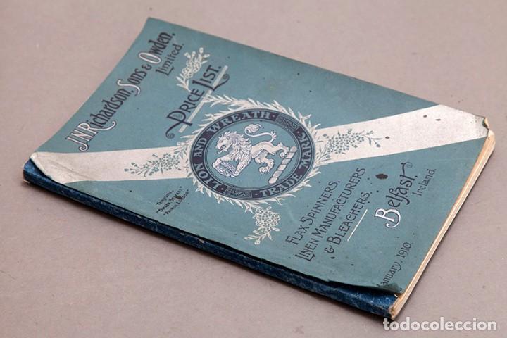 Libros antiguos: Catálogo de confecciones de lino - 1910 - Belfast - Foto 2 - 269078638