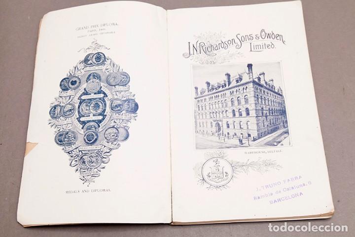 Libros antiguos: Catálogo de confecciones de lino - 1910 - Belfast - Foto 4 - 269078638