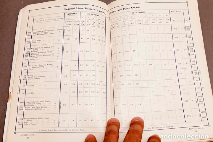 Libros antiguos: Catálogo de confecciones de lino - 1910 - Belfast - Foto 6 - 269078638