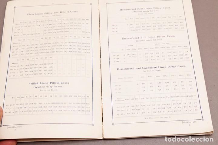 Libros antiguos: Catálogo de confecciones de lino - 1910 - Belfast - Foto 7 - 269078638