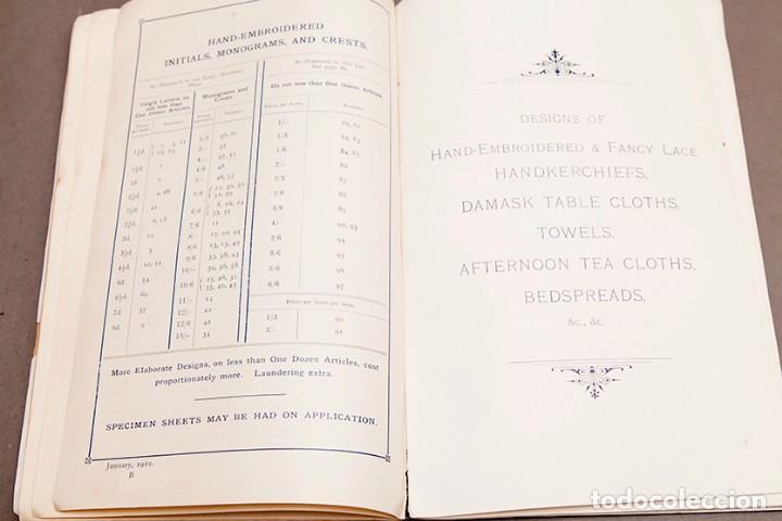 Libros antiguos: Catálogo de confecciones de lino - 1910 - Belfast - Foto 8 - 269078638