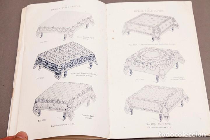 Libros antiguos: Catálogo de confecciones de lino - 1910 - Belfast - Foto 11 - 269078638