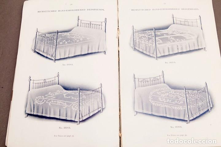 Libros antiguos: Catálogo de confecciones de lino - 1910 - Belfast - Foto 12 - 269078638