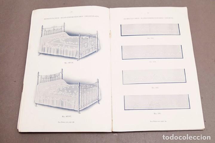 Libros antiguos: Catálogo de confecciones de lino - 1910 - Belfast - Foto 13 - 269078638