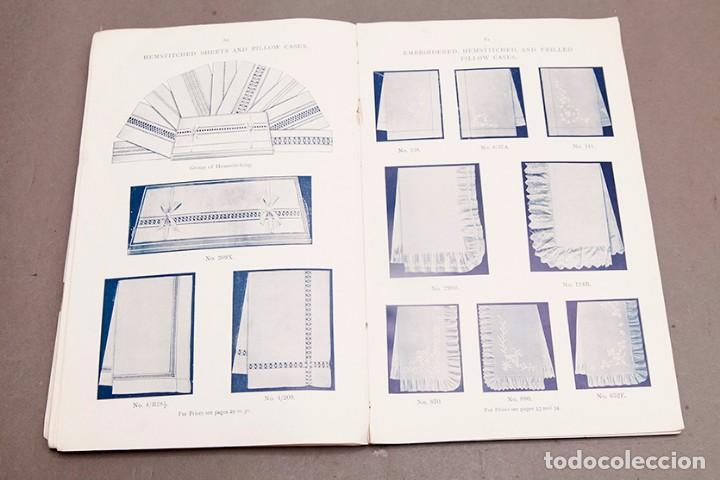 Libros antiguos: Catálogo de confecciones de lino - 1910 - Belfast - Foto 14 - 269078638