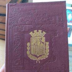 Libros antiguos: HISTORIA GENERAL DE ESPAÑA, MODESTO LAFUENTE, TOMO 1. PRECIOSA ENCUADERNACION. EXCELENTE ESTADO.. Lote 269096123