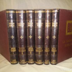 Libros antiguos: LA SAGRADA BIBLIA TRADUCIDA AL CASTELLANO ANTIGUO Y NUEVO TESTAMENTO - AÑO 1905 - BELLOS GRABADOS.. Lote 269197293